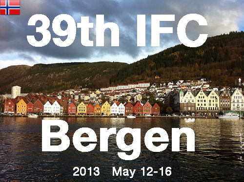 2013 39th Bergen, May 12-16 poster