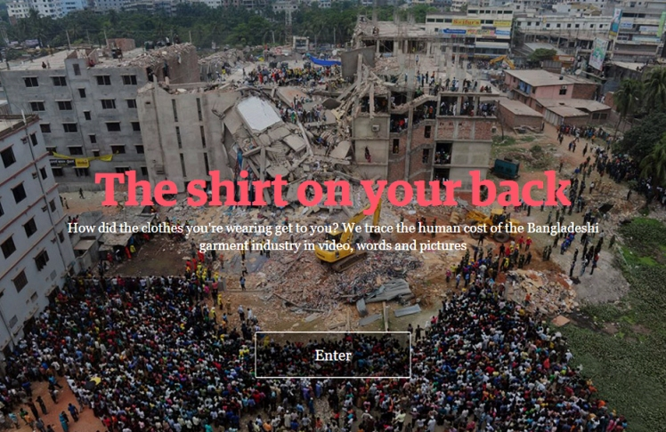 The shirt on your back, The Guardian, UK