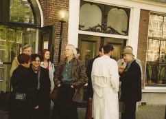 IFC 1999 - Amsterdam - Ready for boat trip ... Conference center 'Rode Hoed'