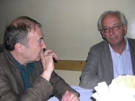 IFC 2005 Romania - Wolfgang Bauernfeind (left) with Aldo Gardini (r) | photo by Jean-Claude Kuner