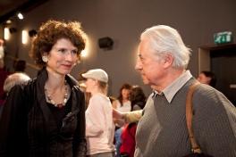 IFC 2011, Hilversum (10 Year EBU Masterschool) - Nathalie Labourdette (l) vs. Peter Leonhard Braun (r)