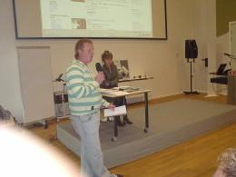 IFC 2007 - Liam O'Brien (l) and Lisbeth Jessen - Copenhagen