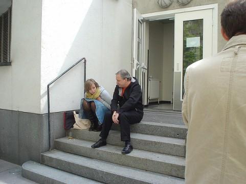 IFC 2006 - Pat Donnez (r), - Vienna