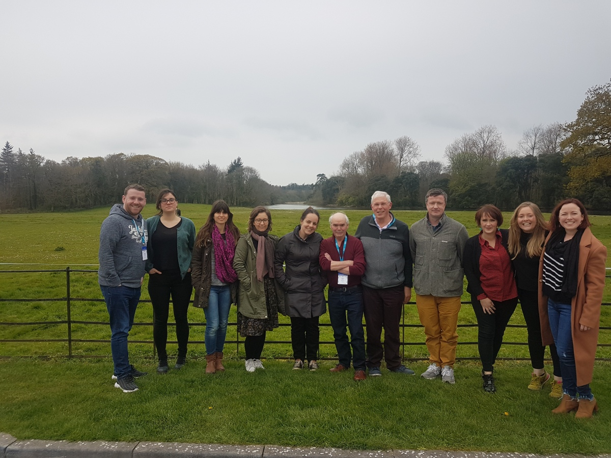 The new Ake Blomström Training 2019-2020 has started at Castlemartyr (Cork, Ireland)